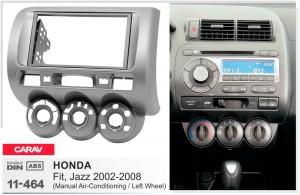 Переходная рамка Honda Fit, Jazz Carav 11-464