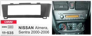 Переходная рамка Nissan Almera, Sentra Carav 11-535