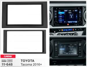 Переходная рамка Toyota Tacoma Carav 11-648