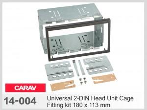 Универсальный набор для крепления 2 DIN магнитол Carav 14-004