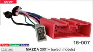 "Переходник для магнитол 9"", 10.1"" Mazda Carav 16-007"