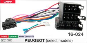 """Переходник для магнитол 9"""", 10.1"""" Peugeot Carav 16-024"""
