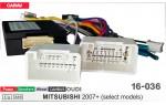 """Переходник для магнитол 9"""", 10.1"""" Mitsubishi Carav 16-036"""