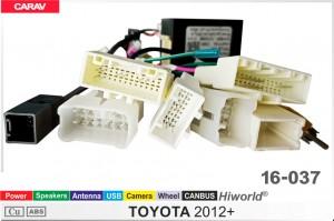"""Переходник для магнитол 9"""", 10.1"""" Toyota Carav 16-037"""