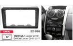 Переходная рамка Renault Duster, Dacia Duster Carav 22-066