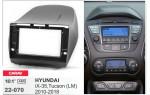Переходная рамка Hyundai ix35, Tucson Carav 22-070