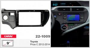 Переходная рамка Toyota Prius C Carav 22-1009