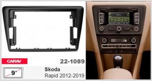 Переходная рамка Skoda Rapid Carav 22-1089