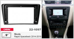 Переходная рамка Skoda Rapid Spaceback Carav 22-1097
