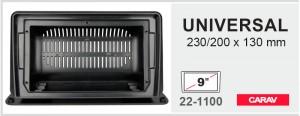"""Универсальная рамка для магнитол 9"""" Carav 22-1100"""