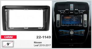 Переходная рамка Nissan Leaf Carav 22-1149
