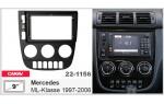 Переходная рамка Mercedes ML-Klasse Carav 22-1156
