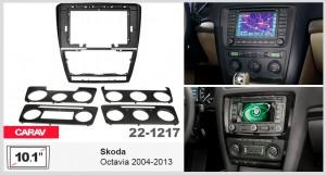 Переходная рамка Skoda Octavia Carav 22-1217