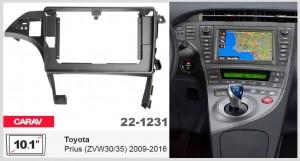 Переходная рамка Toyota Prius Carav 22-1231
