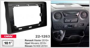Переходная рамка Renault, Opel, Nissan Carav 22-1263