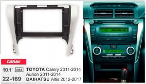 Переходная рамка Toyota Camry, Aurion, Daihatsu Altis Carav 22-169