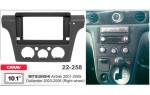 Переходная рамка Mitsubishi Outlander Carav 22-258