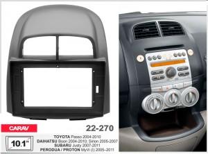 Переходная рамка Daihatsu Sirion, Subaru Justy Carav 22-270