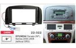 Переходная рамка Hyundai Sonata, Sonica Carav 22-322