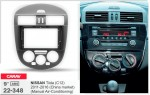 Переходная рамка Nissan Tiida Carav 22-348