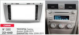 Переходная рамка Toyota Camry, Aurion, Daihatsu Altis Carav 22-440