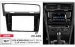 Переходная рамка Volkswagen Golf VII Carav 22-469