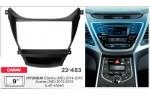 Переходная рамка Hyundai Elantra, Avante Carav 22-483