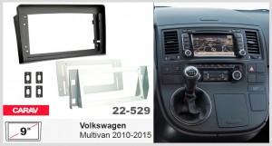 Переходная рамка для автомобиля Volkswagen Multivan Carav 22-529
