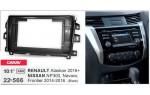 Переходная рамка Nissan NP300, Navara, Frontier, Renault Alaskan Carav 22-566