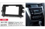 Переходная рамка Nissan NP300, Navara, Renault Alaskan Carav 22-575