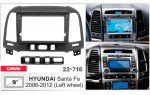 Переходная рамка Hyundai Santa Fe Carav 22-716