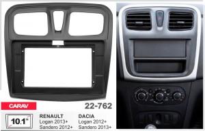 Переходная рамка Renault, Dacia Logan, Sandero Carav 22-762
