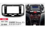 Переходная рамка Chery Bonus, E3, A19 Carav 22-866