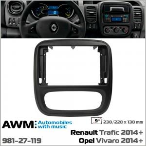 Переходная рамка Opel, Renault AWM 981-27-119