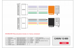 Переходник ISO Ford, Jaguar, Nissan, Mazda Carav 12-009