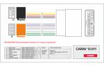 Переходник ISO Citroen, Honda, Mitsubishi, Peugeot, Citroen Carav 12-011