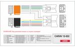 Переходник ISO Toyota, Daihatsu, Lexus Carav 12-022