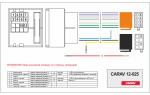Переходник ISO Volkswagen, Audi, Skoda, Seat Carav 12-025