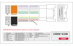 Переходник ISO Mitsubishi, Peugeot, Citroen Carav 12-030