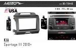Переходная рамка KIA Sportage Metra 95-7344G