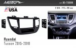 Переходная рамка Hyundai Tucson Metra 95-7369B