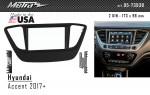 Переходная рамка Hyundai Accent Metra 95-7393B