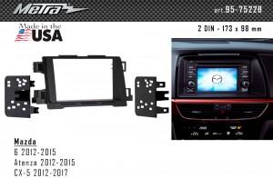 Переходная рамка Mazda 6, CX-5 Metra 95-7522B