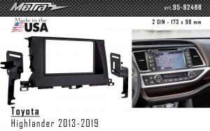 Переходная рамка Toyota Highlander Metra 95-8248B
