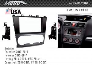 Переходная рамка Subaru Metra 95-8907HG