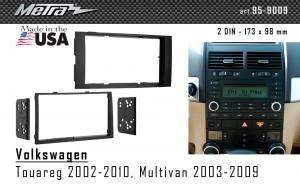 Переходная рамка Volkswagen Touareg, Multivan Metra 95-9009
