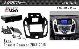 Переходная рамка Ford Transit Connect, Tourneo Connect Metra 99-5831B