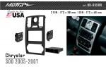 Переходная рамка Chrysler 300 Metra 99-6550B