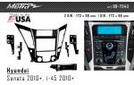 Переходная рамка Hyundai Sonata, i-45 Metra 99-7343