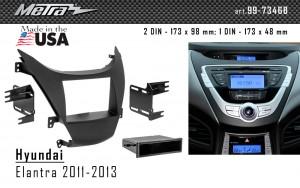 Переходная рамка Hyundai Elantra Metra 99-7346B
